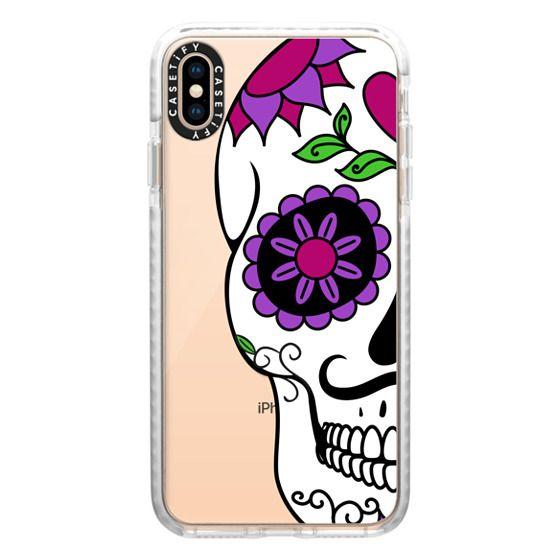 iPhone XS Max Cases - Boyfriend Sugar Skull