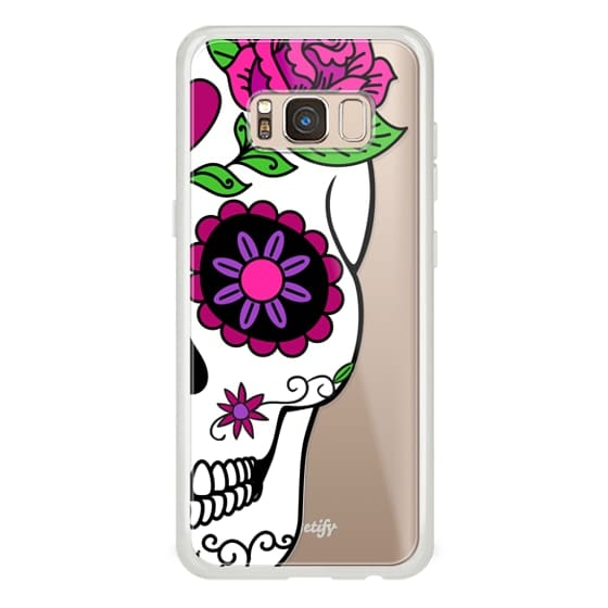 Samsung Galaxy S8 Cases - Girlfriend Sugar Skull