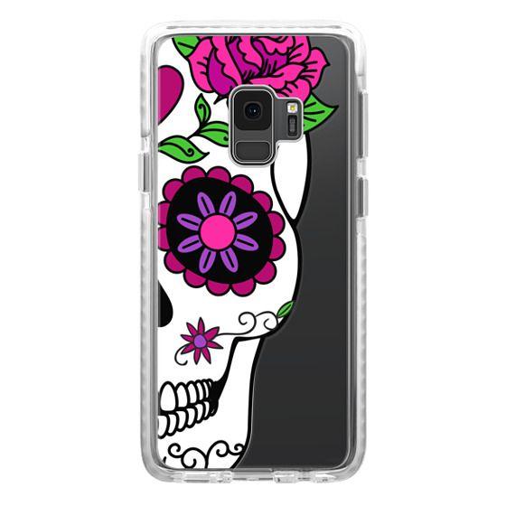 Samsung Galaxy S9 Cases - Girlfriend Sugar Skull