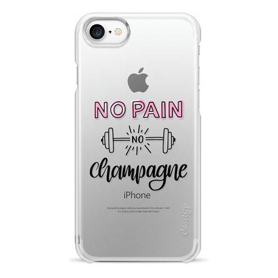 iPhone 7 Cases - No Pain No Champange
