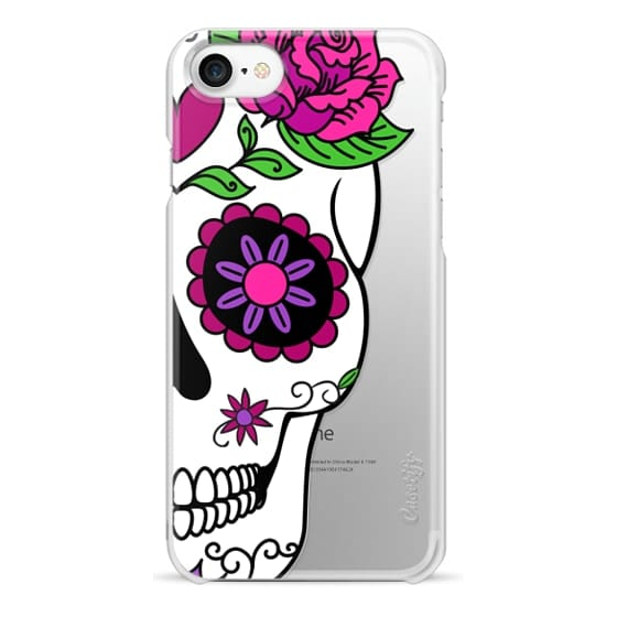 iPhone 7 Cases - Girlfriend Sugar Skull