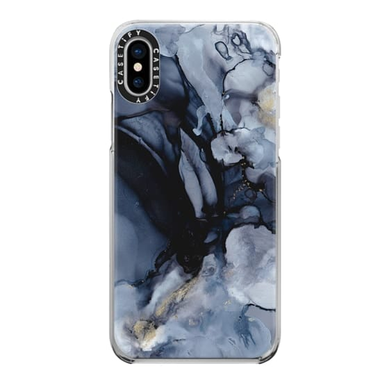 iPhone X Cases - Smokey Marble