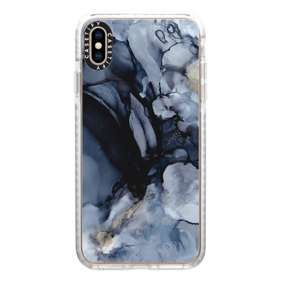 iPhone XS Max Cases - Smokey Marble