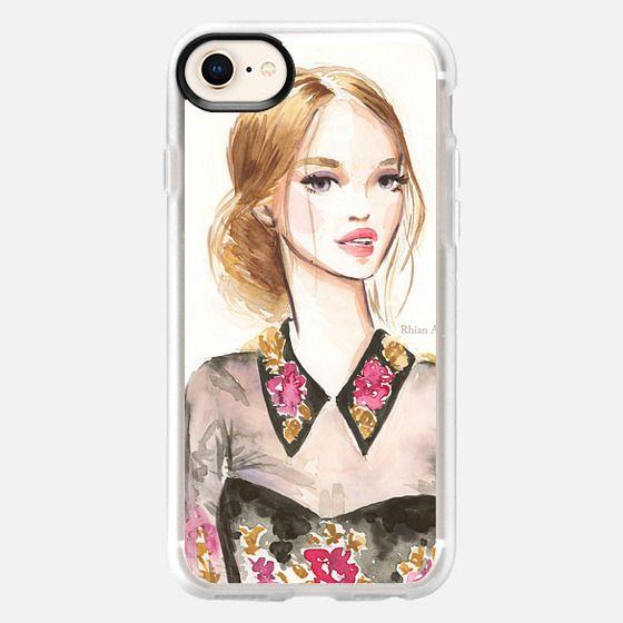 Beauty Illustration - Marchesa by Rhian Awni - Snap Case