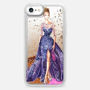 iPhone 7 Case Fashion Illustration - Zuhair Murad Couture - Rhian Awni