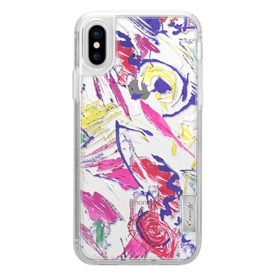 iPhone X Cases - BOLD FLOWER