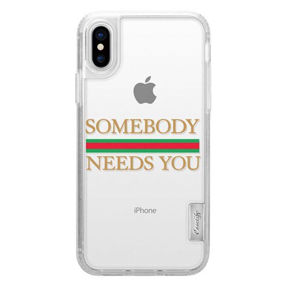 iPhone X Cases - SOMEBODY