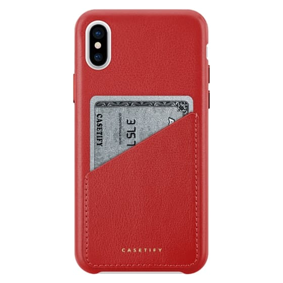 iPhone X Cases - Leather Case