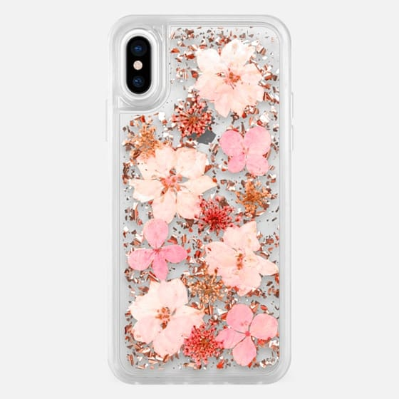 Luxe Pressed Flower Phone Case -