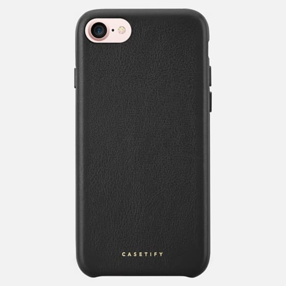 Leather Case - Leather Snap Case