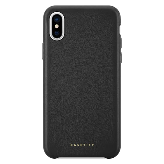 iPhone X Cases - Premium Leather Case