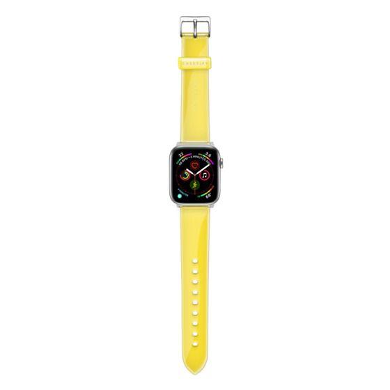 Apple Watch 38mm Bands - Custom Clear TPU Watch Band