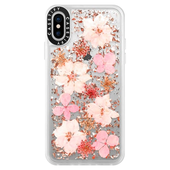 iPhone X Cases - Luxe Pressed Flower Phone Case