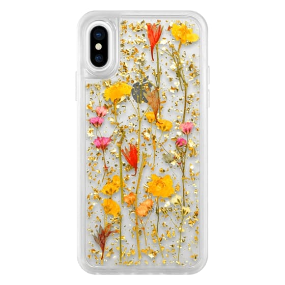 iPhone XS Cases - Luxe Pressed Flower Phone Case