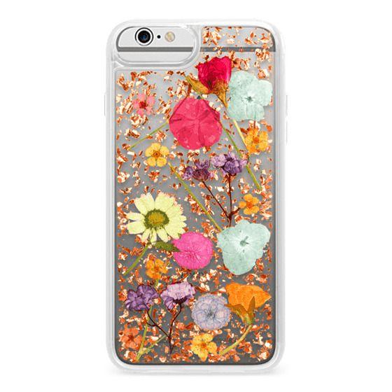 iPhone 6 Plus Cases - Luxe Pressed Flower Phone Case