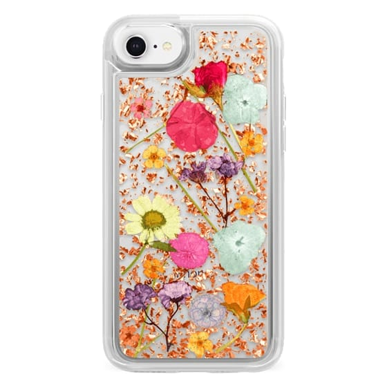 iPhone 8 Cases - Luxe Pressed Flower Phone Case