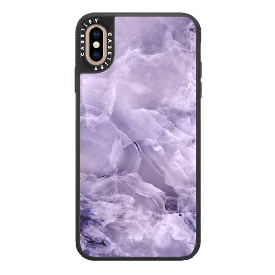 iPhone XS Max Cases - Custom Marble Case