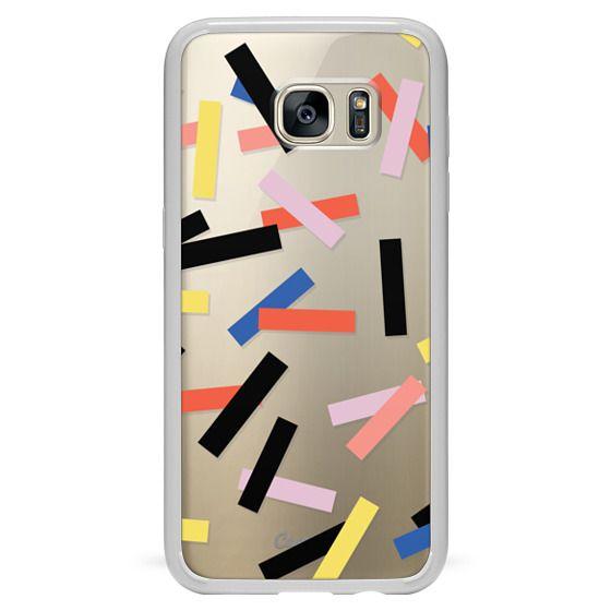 Samsung Galaxy S7 Edge Cases - Casetify Confetti