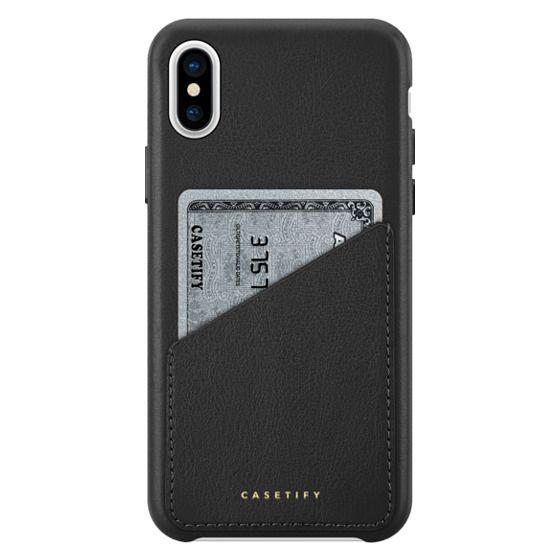 iPhone X Cases - プレミアム レザーケース