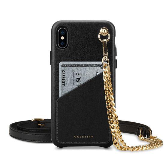 iPhone XS Cases - Premium Leather Case