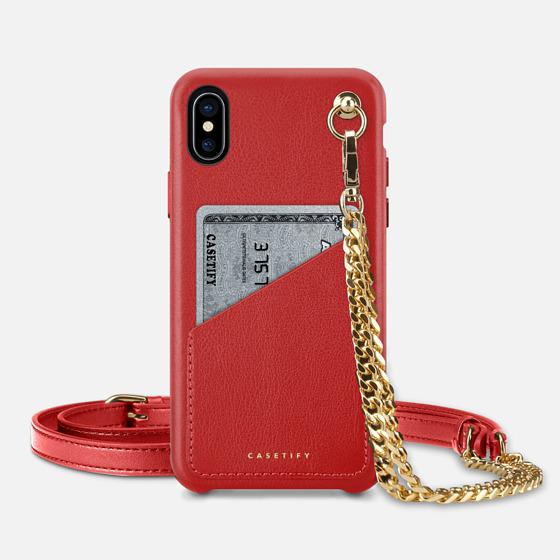iPhone 7 Plus/7/6 Plus/6/5/5s/5c Case - Premium Leather Case