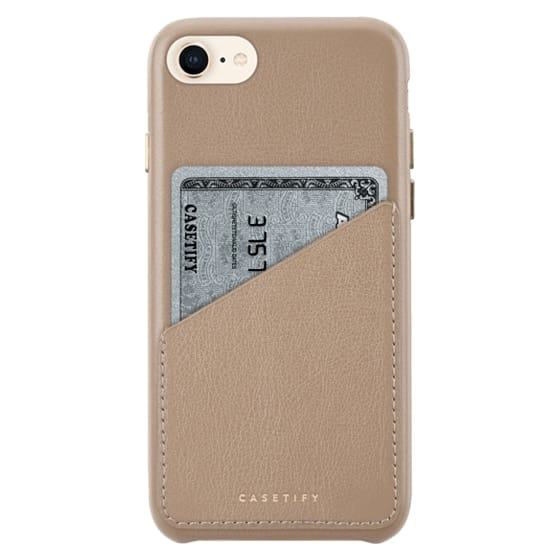 iPhone 8 Cases - Funda de Piel Premium