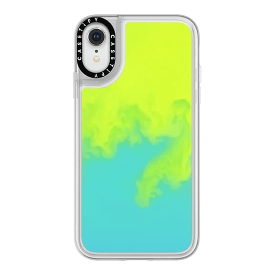 iPhone XR Cases - Neon Sand Liquid Case
