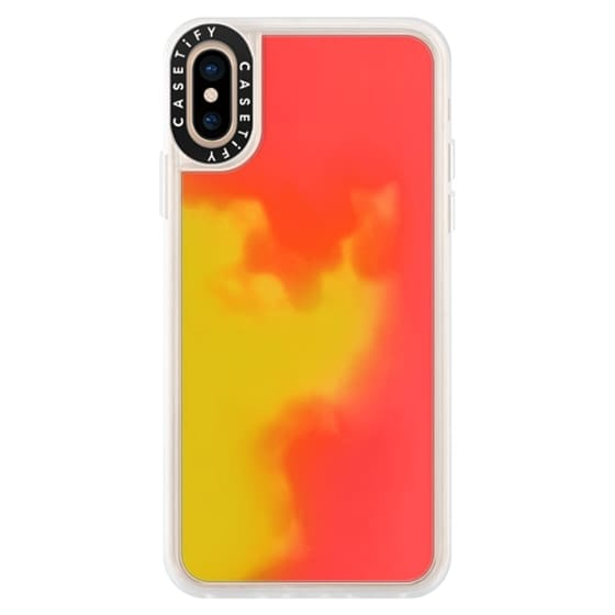 iPhone XS Cases - Funda Arena Neón Liquida