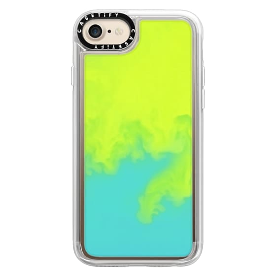 iPhone 7 Cases - Neon Sand Liquid Case