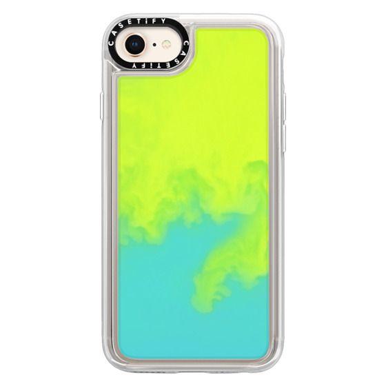 iPhone 8 Cases - Neon Sand Liquid Case