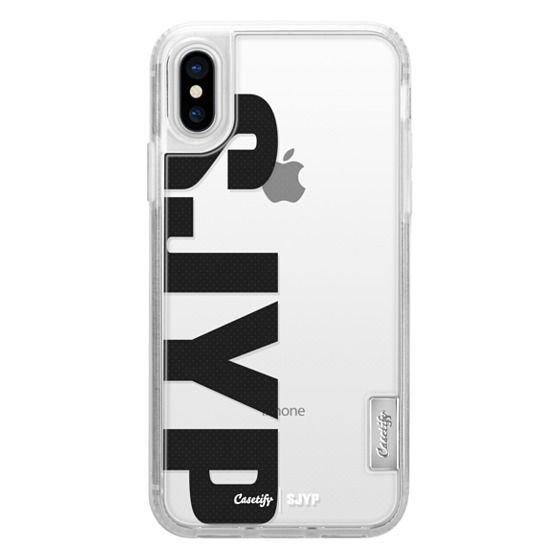 iPhone X Cases - Steve J & Yoni P X Casetify Classic Grip Case - SJYP logo