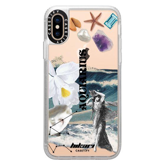 iPhone XS Cases - Hikari AQUARIUS