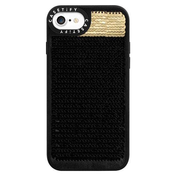 iPhone 7 Cases - Hidden Message Sequin Case