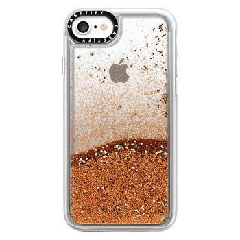 1467449a74b Glitter iPhone 7 Case Case - Clear iPhone Case