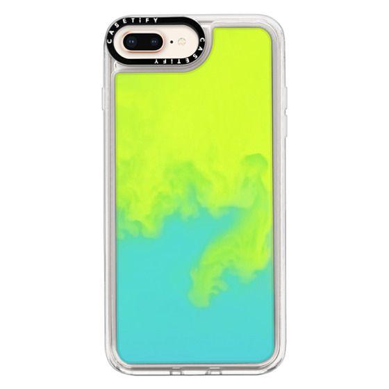 iPhone 8 Plus Cases - Neon Sand Liquid Case