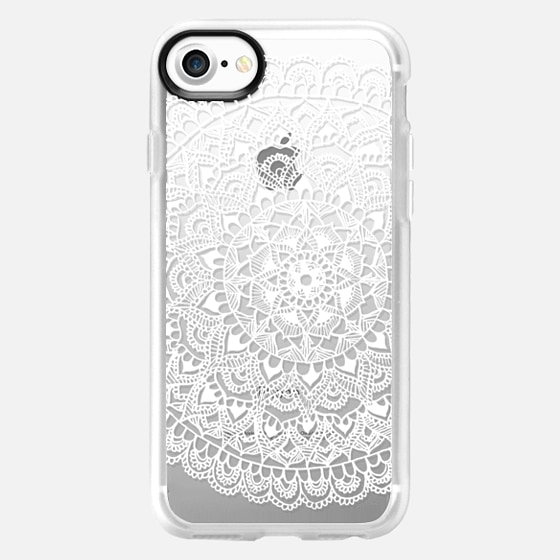 White Lace Mandala Pattern Galaxy S5 - Wallet Case