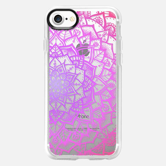 Pretty Lace Mandala #1 (Pretty in Pink) - Wallet Case