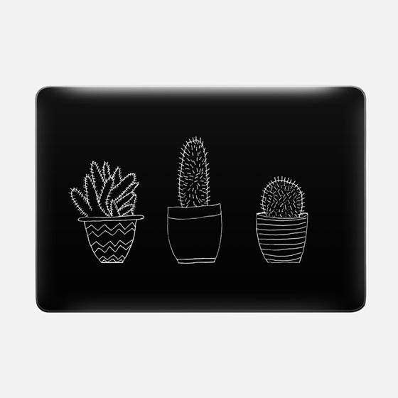 Black Cacti (Macbook Sleeve)