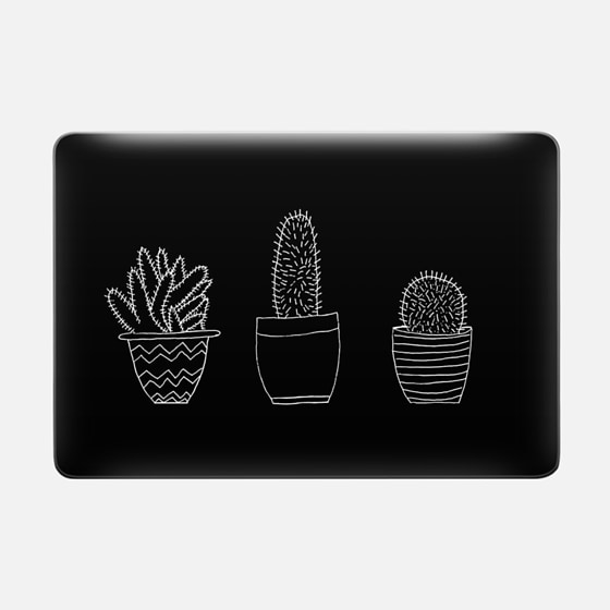 Black Cacti (Macbook Sleeve)