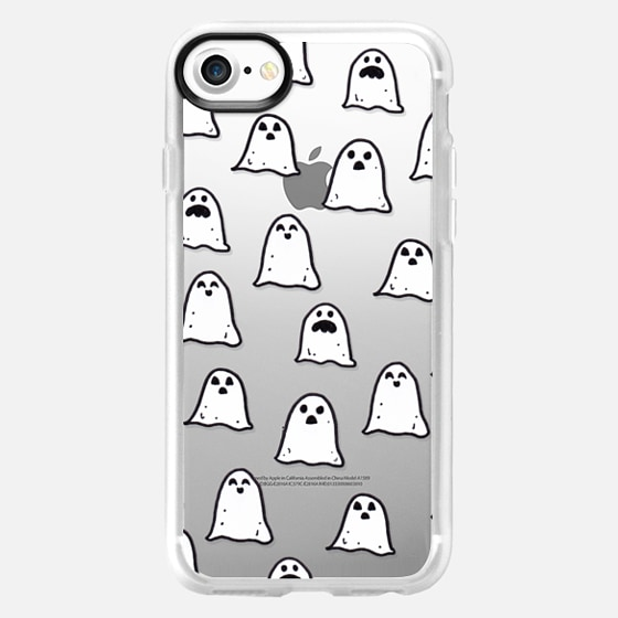 Ghosts on Clear - Wallet Case