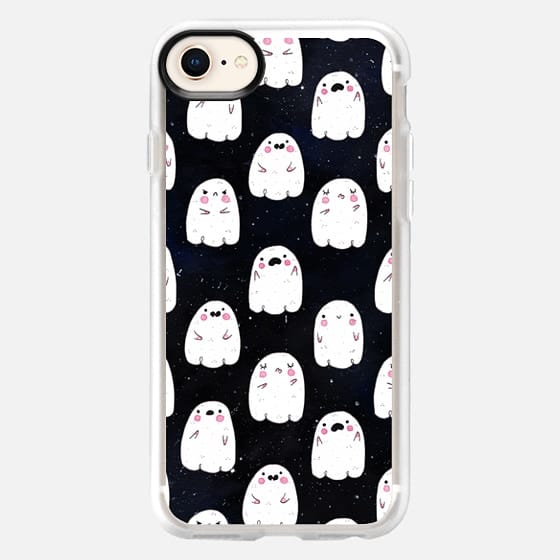 Cute Ghosts at Night - Snap Case
