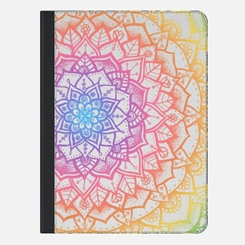 "iPad Pro 9.7"" Case Pretty Lace Mandala #1 (Rainbow - for Ipad)"