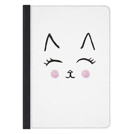 Cute Cat Face Watercolour for IPAD