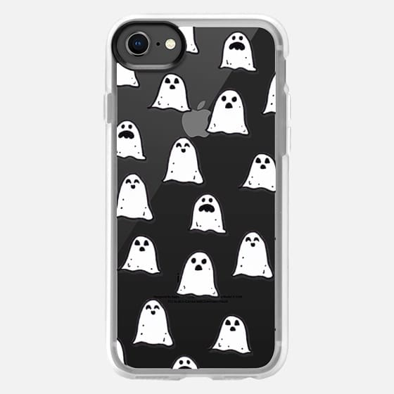Ghosts on Clear - Snap Case
