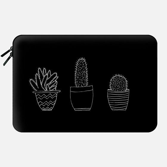 Black Cacti (Macbook Sleeve) -
