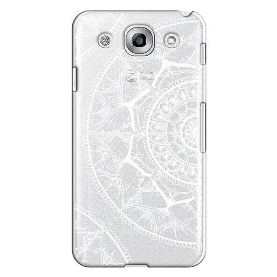 Optimus G Pro Cases - White Circle Mandala 1#