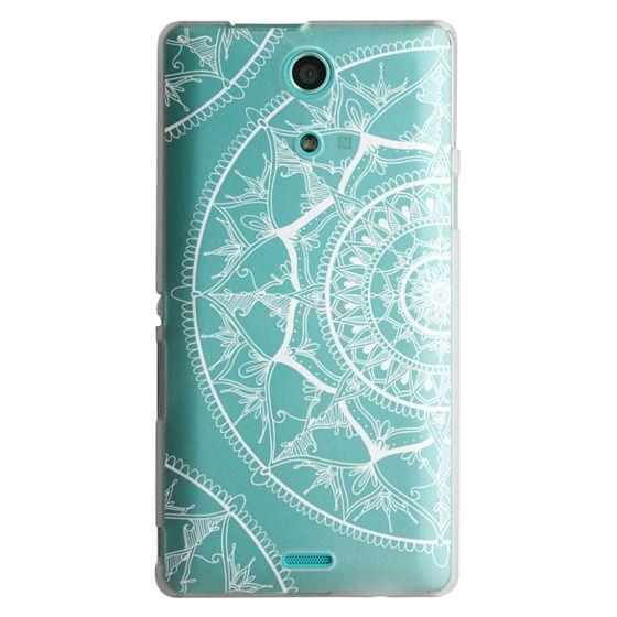Sony Zr Cases - White Circle Mandala 1#