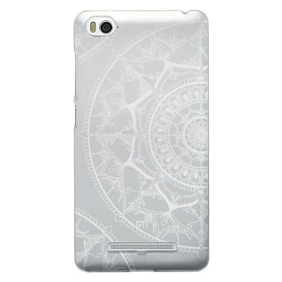 Xiaomi 4i Cases - White Circle Mandala 1#