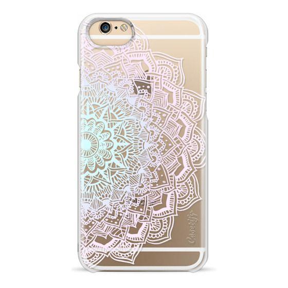 iPhone 4 Cases - Pastel Lace Mandala