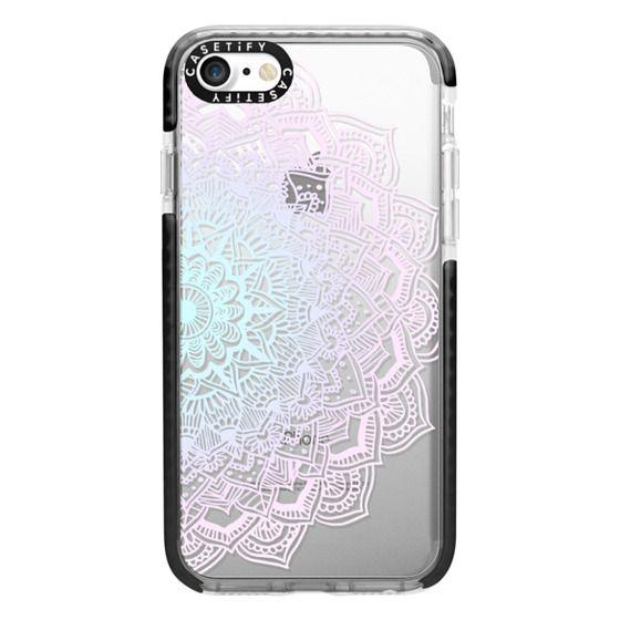 iPhone 7 Cases - Pastel Lace Mandala